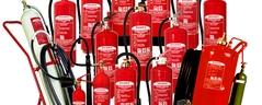 Verkauf von tragbaren und fahrbaren Feuerlöschern